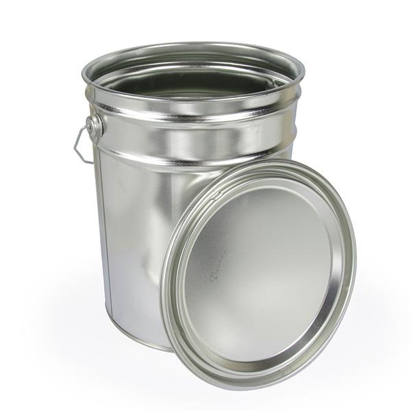 Wiadro spożywcze metalowe 20L