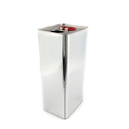 Kanister metalowy prostokątny 5,0L