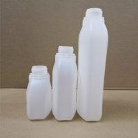 płaskie butelki plastikowe HDPE