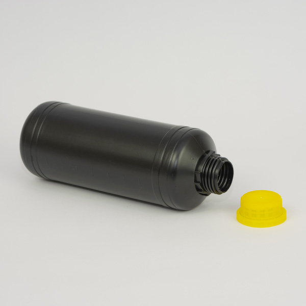 Butelka HDPE 1L czarna